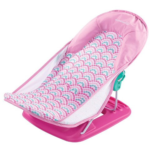 Summer Infant Deluxe Baby Bather - Pink Dots - image 1 of 4