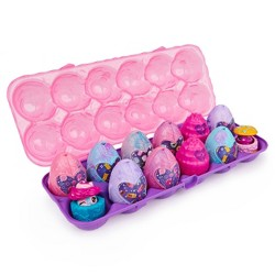 Hatchimals Colleggtibles 12pk Secret Snacks Egg Carton
