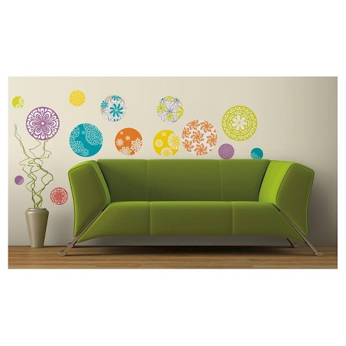 RoomMates Patterned Dots Peel & Stick Wall Decals - image 1 of 1