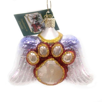 """Old World Christmas 3.25"""" Beloved Pet Four Legged Friend  -  Tree Ornaments"""