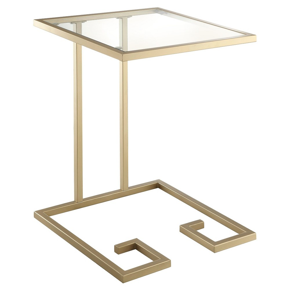Image of Willa Accent Table Gold - Carolina Forge
