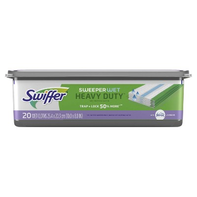 Mops & Accessories: Swiffer Sweeper Wet Heavy Duty Mopping Pad Refills