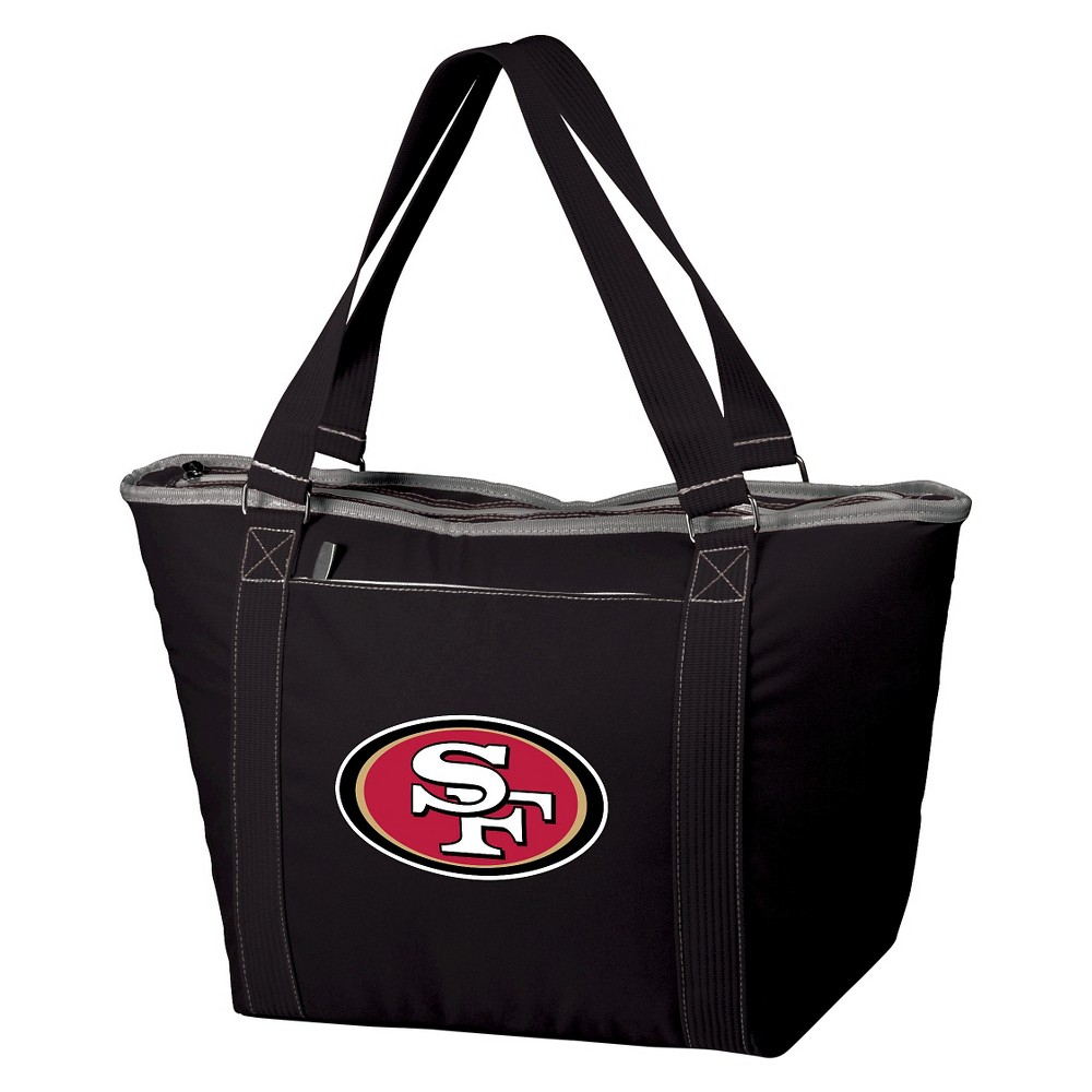 San Francisco 49ers - Topanga Cooler Tote by Picnic Time (Black)