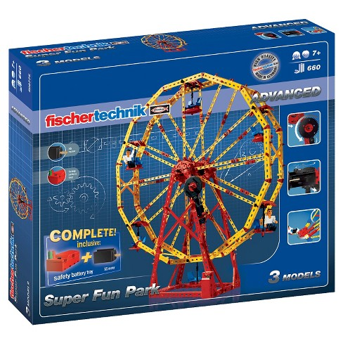 Fischertechnik Super Fun Park STEM Set - 660pc - image 1 of 5