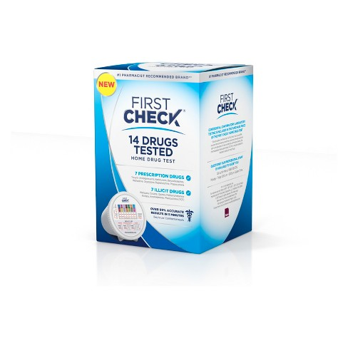 First Check At Home 14 Drug Testing Kit