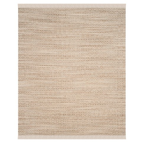 Beige/Ivory Solid Tufted Area Rug 8'X10' - Safavieh - image 1 of 3