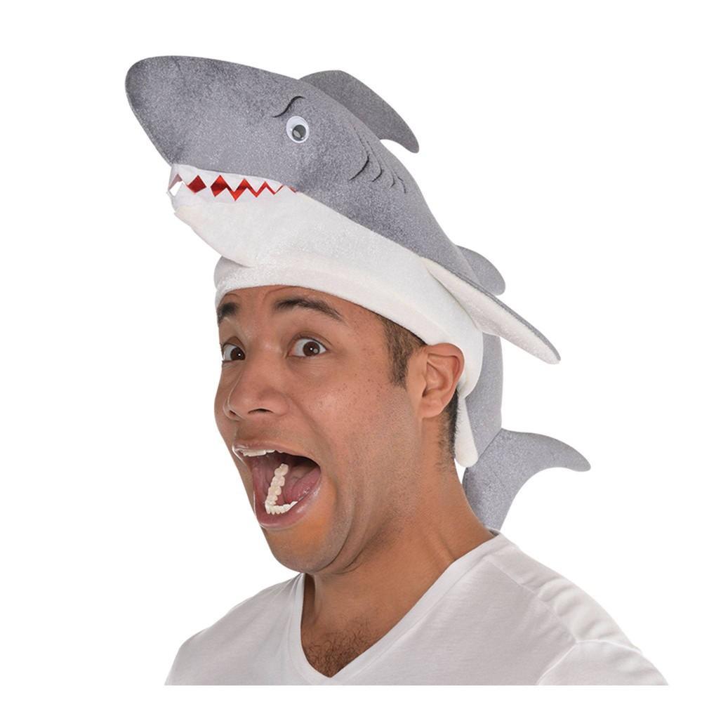 Shark Hat Deluxe Halloween Costume Headwear