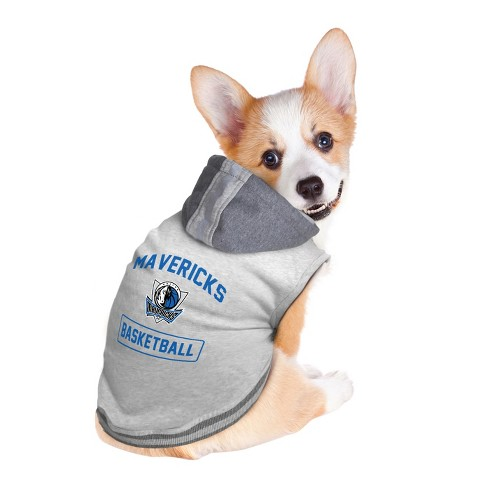 097e8700782 Dallas Mavericks Pet Hooded Crewneck Sweater L. Shop all NBA
