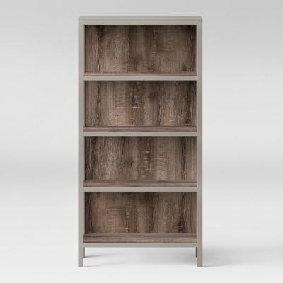Hadley 64  4 Shelf Bookcase - Gray - Threshold™