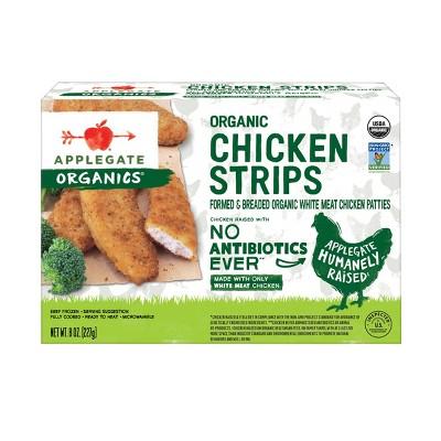 Applegate Organics Chicken Strips - Frozen - 8oz