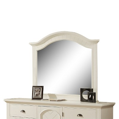 Aiden Cottage Mirror White - Picket House Furnishings