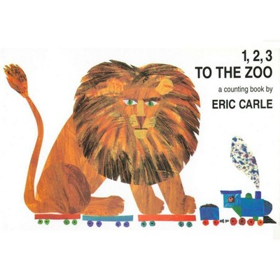 1, 2, 3 to the Zoo - by Eric Carle (Board Book)