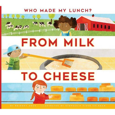 From Milk to Cheese - (Who Made My Lunch?) by  Bridget Heos (Paperback) - image 1 of 1