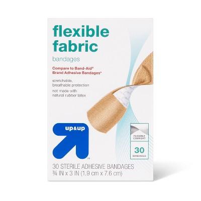 Flexible Fabric Bandages - 30ct - up & up™