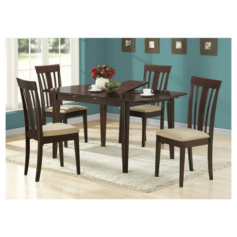Dining Chair - 2 Piece - Microfiber Cappuccino - EveryRoom - image 1 of 1