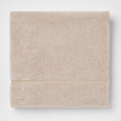 Performance Texture Bath Towel Tan - Threshold™