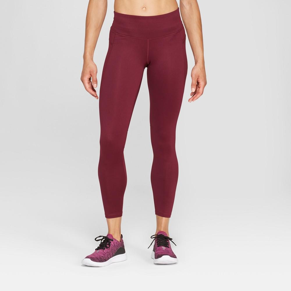 Women's Studio Mid-Rise Leggings 25 - C9 Champion Dark Purple L