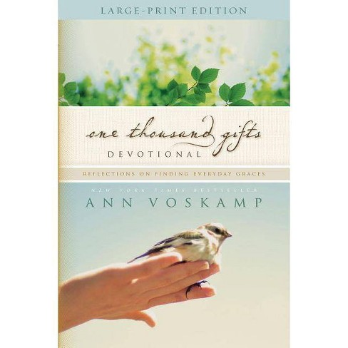 One Thousand Gifts Devotional - by  Ann Voskamp (Paperback) - image 1 of 1