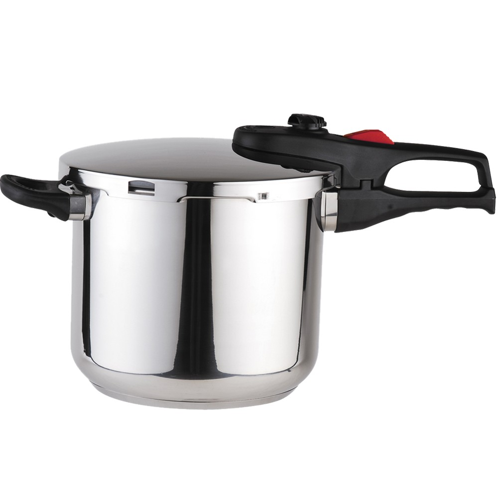Image of Magefesa Practika Plus Stainless Steel 6.4-qt. Pressure Cooker