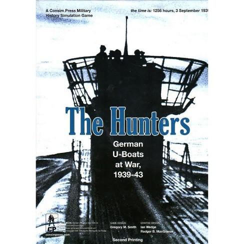Hunters, The - German U-Boats at War, 1939-43 (2014 Edition) Board Game - image 1 of 1