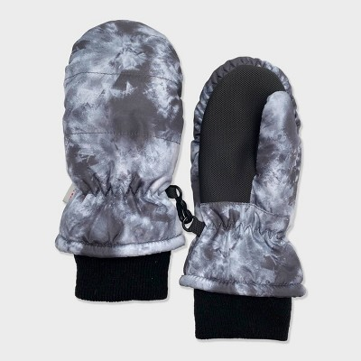 Toddler Boys' Tie-Dye Ski Mittens - Cat & Jack™ Gray