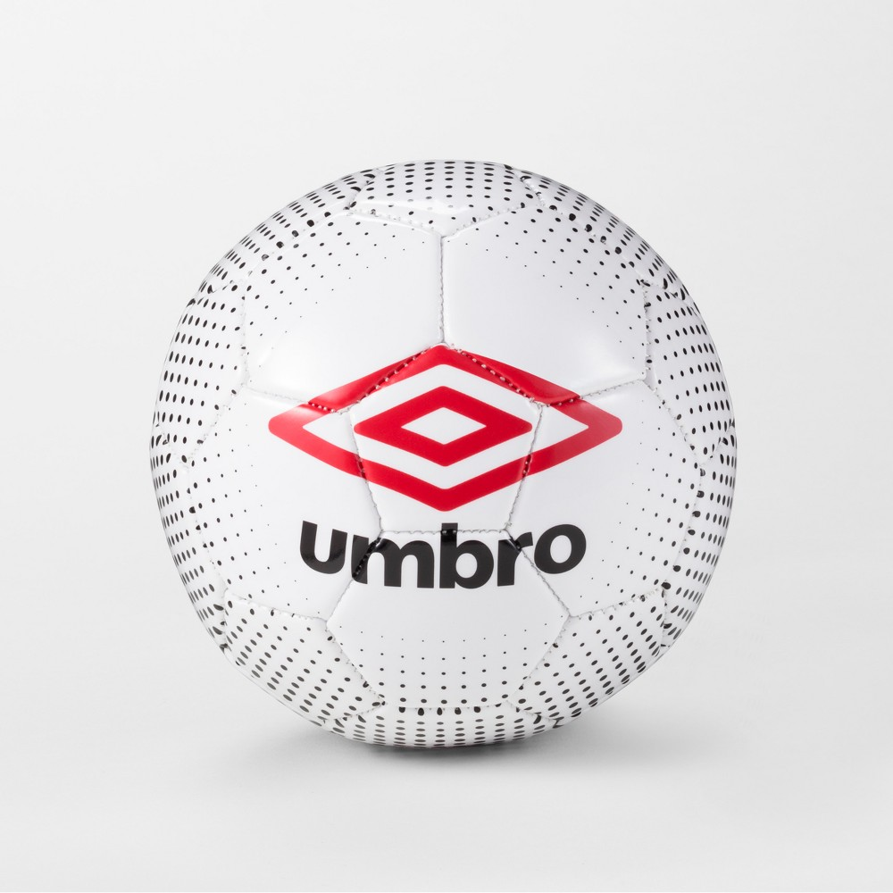 Umbro Duotone Size 4 Soccer Ball - White/Black