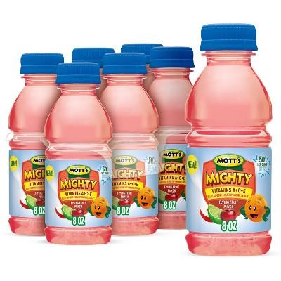 Mott's Mighty Fruit Punch Juice Drink - 6pk/8 fl oz Bottles