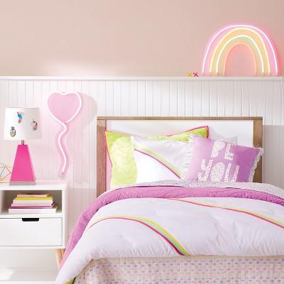 Led Neon Rainbow Sign Pillowfort Target