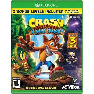 Crash Bandicoot N Sane Trilogy Xbox One Target