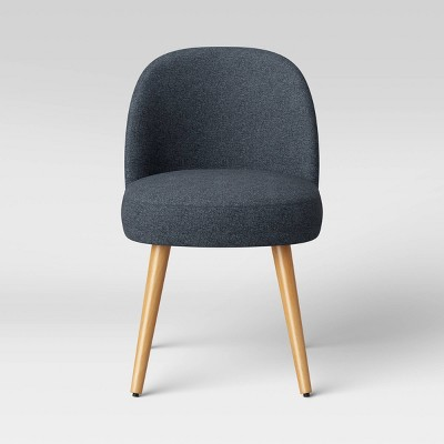 Stene Round Upholstered Dining Chair Textured Woven - Project 62™