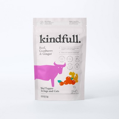 Dry Meal Topper for Dog and Cat Food - 4oz - Kindfull™
