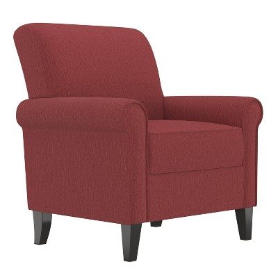 Janet Rolled Arm Chair - Handy Living
