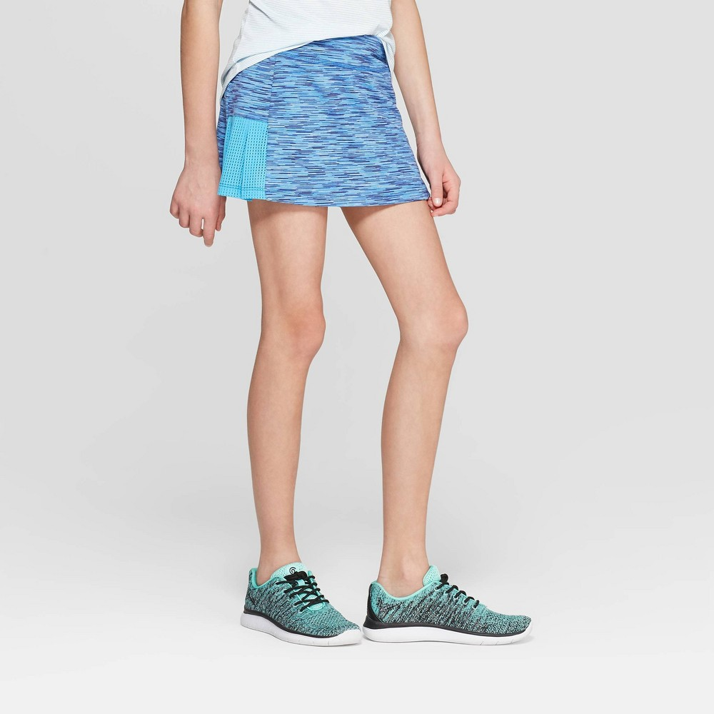 Image of Girls' Spacedye Performance Skort - C9 Champion Blue XS, Girl's