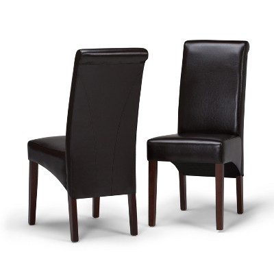 Set of 2 Franklin Deluxe Parson Dining Chair - Wyndenhall