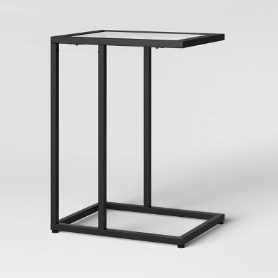 Greenwich Square Glass C Table - Threshold™ : Target