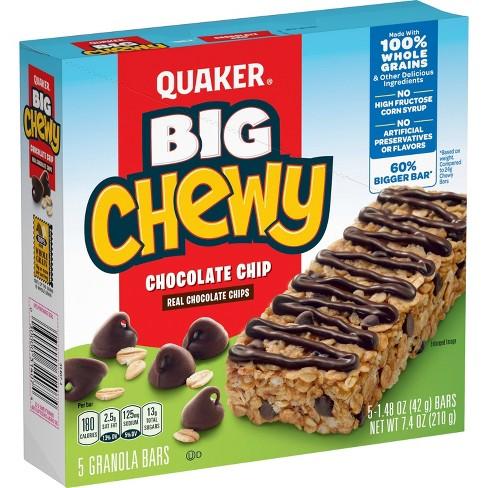 Quaker Big Chewy Chocolate Chip Granola