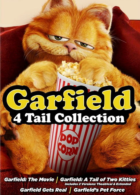 Garfield: 4 Tail Collection [4 Discs] - image 1 of 1