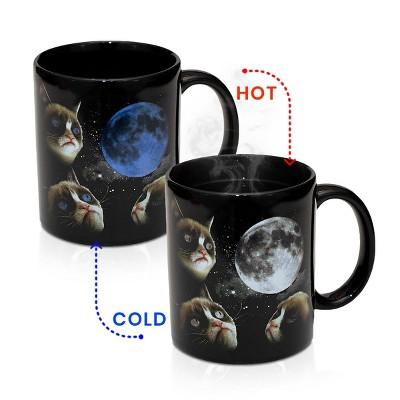 Grumpy Cat Moon Heat Sensitive Color Changing 11oz Coffee Mug
