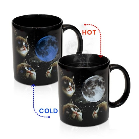 Grumpy Cat Moon Heat Sensitive Color Changing 11oz Coffee Mug - image 1 of 3