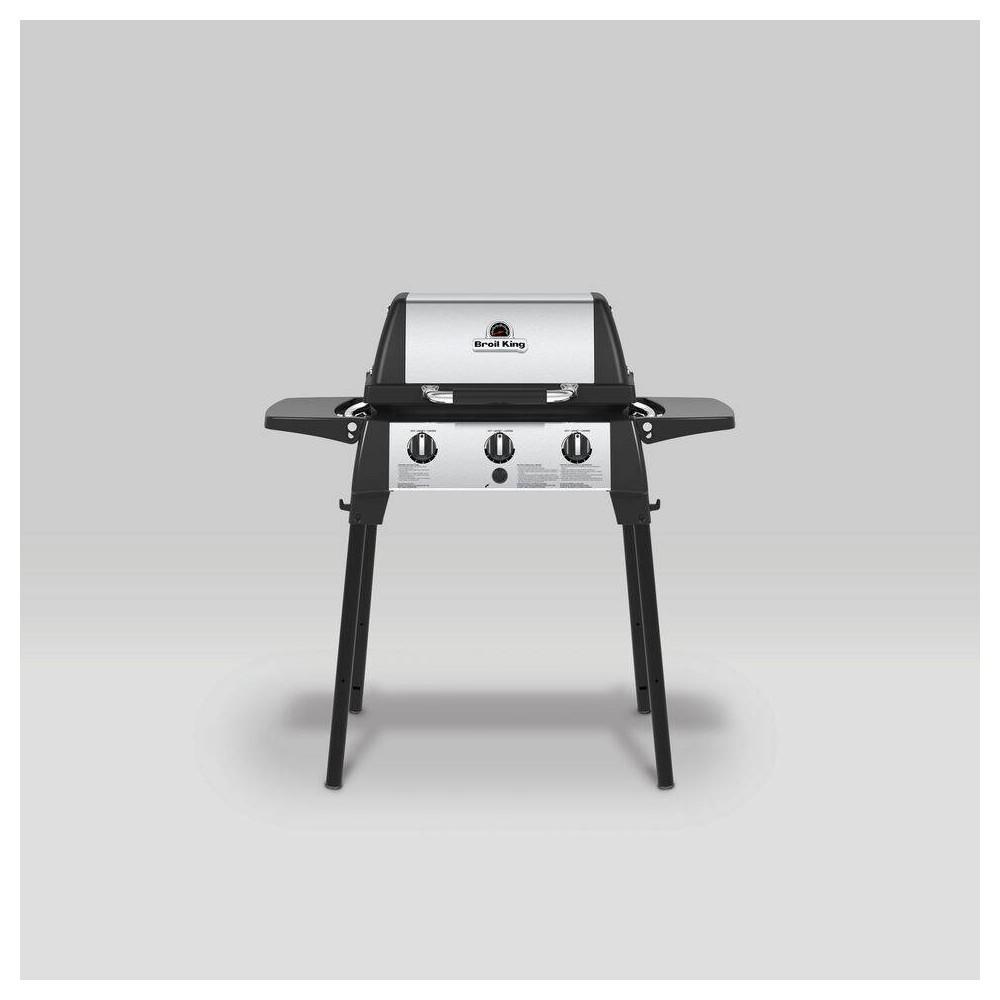 Broil King Porta-Chef 320 3-Burner Liquid Propane Portable Gas Grill 952654, Black