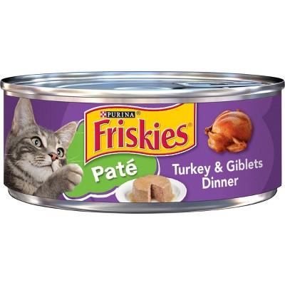 Purina Friskies Paté Wet Cat Food Turkey & Giblets Dinner - 5.5oz