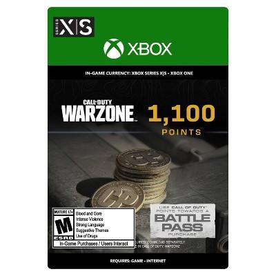 Call of Duty: Warzone 1,100 Points - Xbox Series X|S/Xbox One (Digital)
