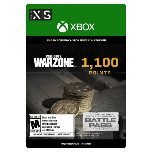 Call of Duty: Warzone 1,100 Points - Xbox Series X S/Xbox One (Digital) - image 1 of 4