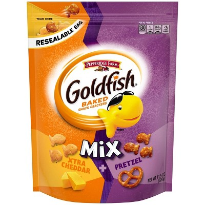 Crackers: Goldfish Mix