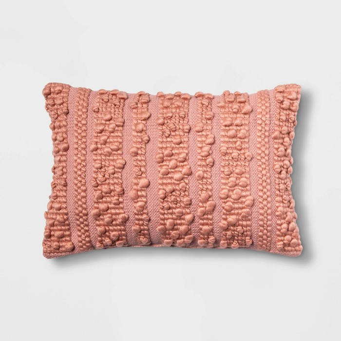 Loop Stripe Lumbar Pillow - Opalhouse™ - image 1 of 4