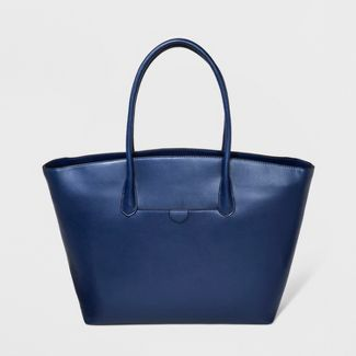 Winged Tote Handbag - A New Day™ Navy Voyage