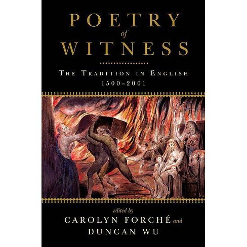 Poetry of Witness - (Paperback) - image 1 of 1
