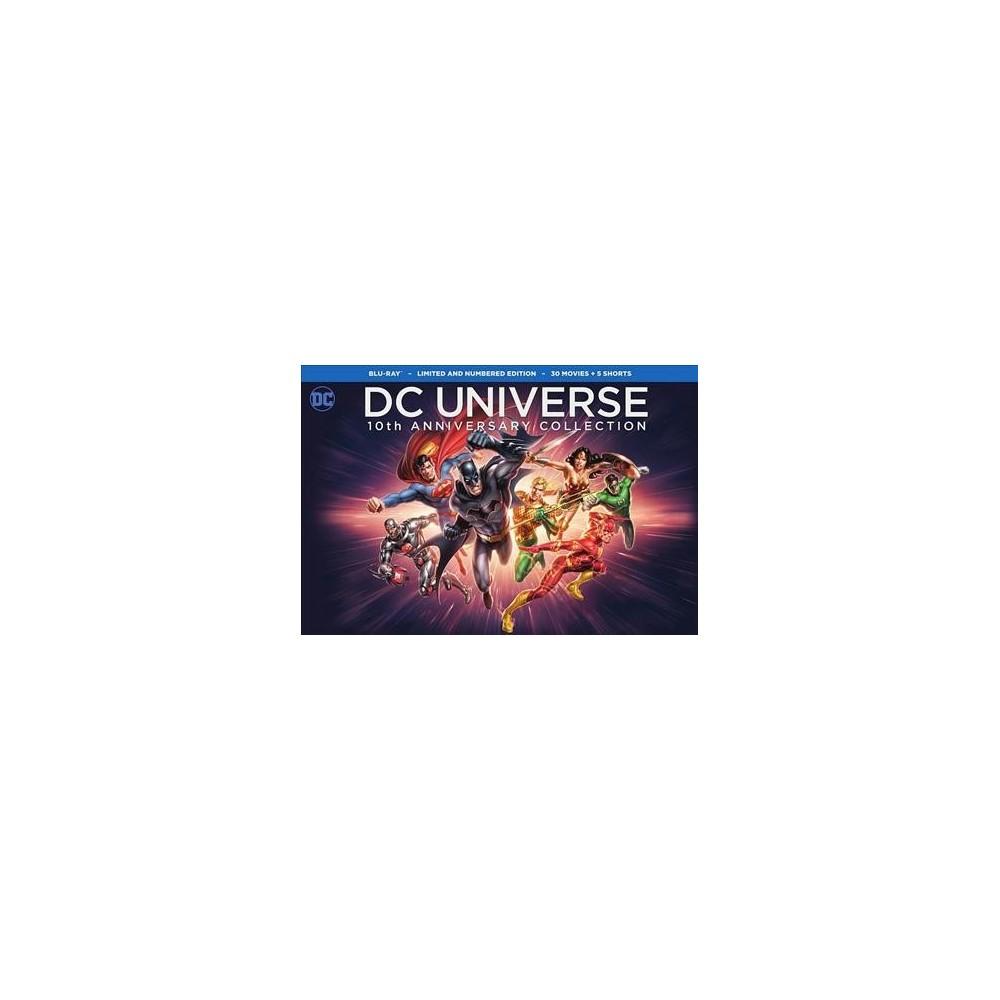 Dc Universe 10th Anniversary Collecti (Blu-ray)