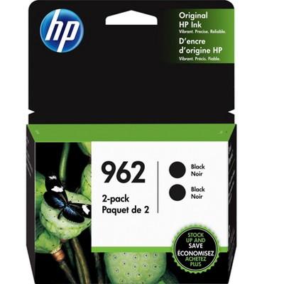 HP Inc. HP 962 Black Ink Cartridges, Standard Yield 3JB33AN#140