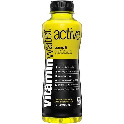 Water: vitamin water active